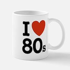 I Love 80's Mug