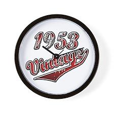 Cute Vintage 1953 Wall Clock
