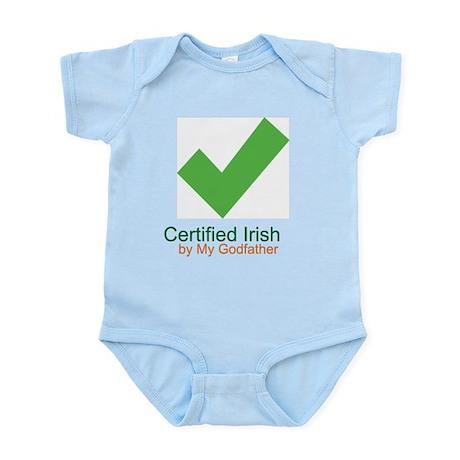 Certified Irish By Godfather Infant Bodysuit