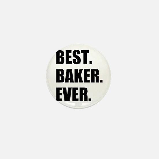 Best Baker Ever Mini Button