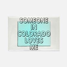 Someone in Colorado Rectangle Magnet