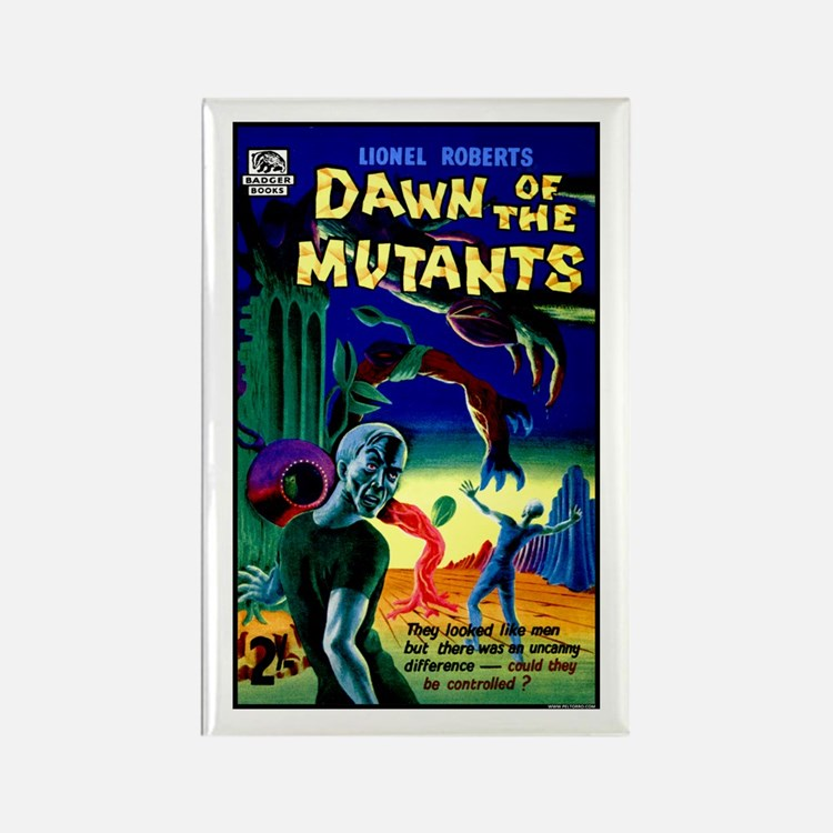 Dawn of the Mutants Rectangle Magnet