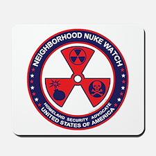 Neighborhood Nuke Watch Mousepad