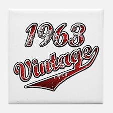 Unique 1963 Tile Coaster