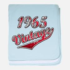 Cute Vintage 1965 baby blanket