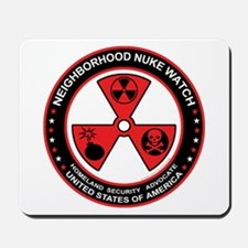 Neighborhood Nuke Watch Mousepad