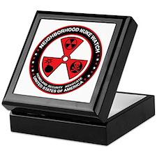 Neighborhood Nuke Watch Keepsake Box