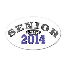 Senior Class of 2014 22x14 Oval Wall Peel