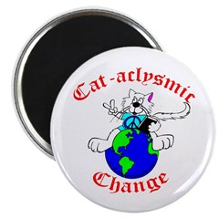 Cat-aclysmic Change Magnet