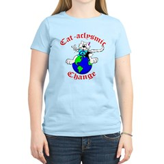 Cat-aclysmic Change T-Shirt
