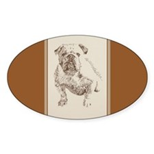 English Bulldog Decal