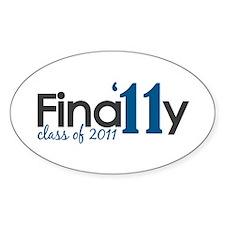 Finally Class of 2011 Decal