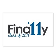 Finally Class of 2011 Postcards (Package of 8)