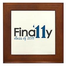 Finally Class of 2011 Framed Tile
