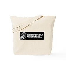 Patton - A Good Plan Tote Bag