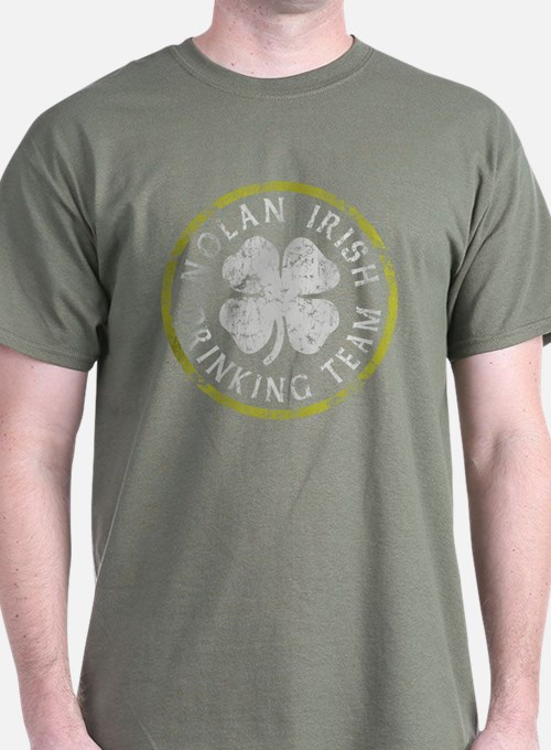 Nolan Irish Drinking Team T-Shirt