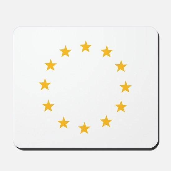 Europe stars Mousepad