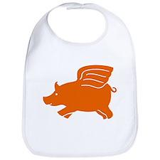 Flying Pig Bib