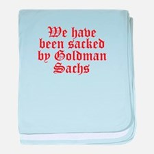 Goldman Sachs baby blanket