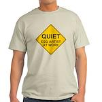 QUIET Egg Artist Light T-Shirt