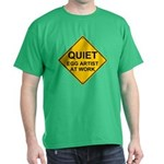 QUIET Egg Artist Dark T-Shirt
