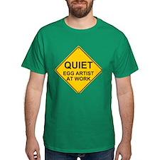 QUIET Egg Artist T-Shirt