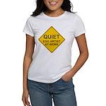QUIET Egg Artist Women's T-Shirt