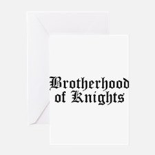 Brotherhood of Knights Greeting Card