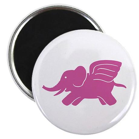 Flying Elephant Magnet