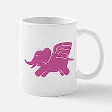 Flying Elephant Mug