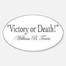 Unique Victory Sticker (Oval 10 pk)