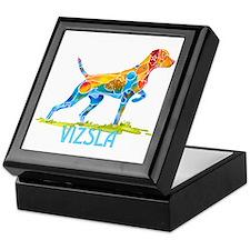 Vizsla on Point Gifts Keepsake Box