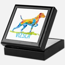 Vizsla on Point Gifts Keepsake Box