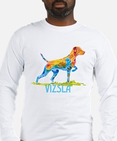Vizsla on Point Gifts Long Sleeve T-Shirt