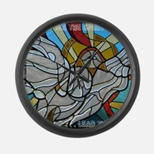 Show Me the Spirit Large Wall Clock