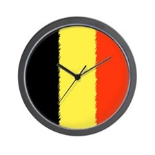 Flag of Belgium Wall Clock