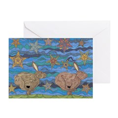 Year of the Rabbit Greeting Cards (Pk of 20)