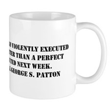 Patton - A Good Plan Mug