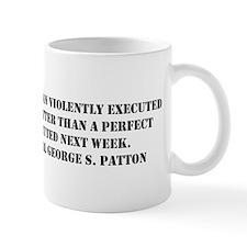 Patton - A Good Plan Small Mug