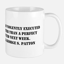 Patton - A Good Plan Small Small Mug