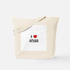 I * Anya Tote Bag