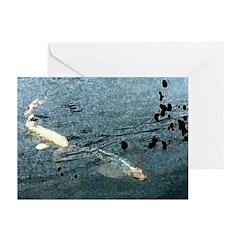 Fish Ripples Greeting Cards (Pk of 10)