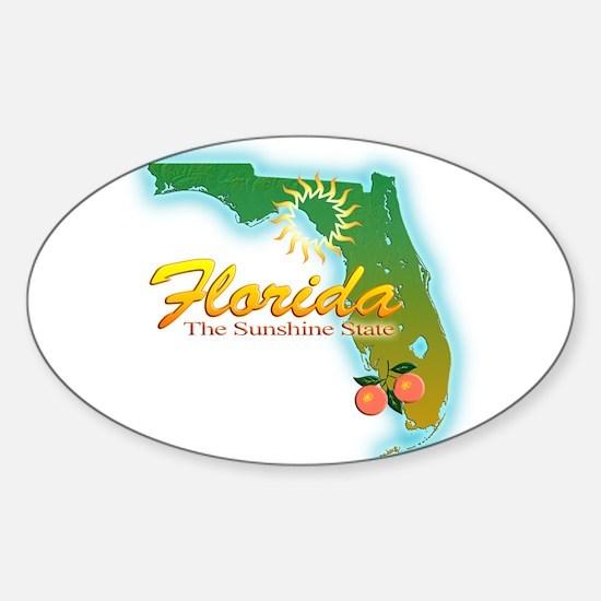 Florida Sticker (Oval)