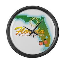 Florida Large Wall Clock