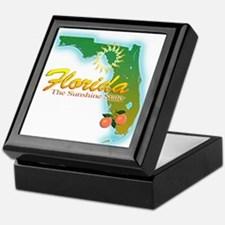 Florida Keepsake Box