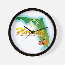 Florida Wall Clock