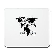 Africa Genealogy Tree Mousepad