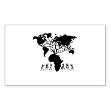 Africa Genealogy Tree Decal