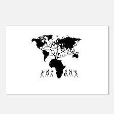 Africa Genealogy Tree Postcards (Package of 8)