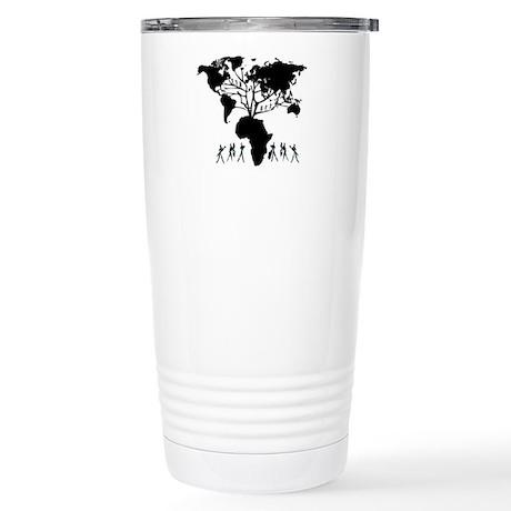 Africa Genealogy Tree Stainless Steel Travel Mug